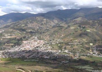 Vista panorámica de la ciudad de Curahuasi