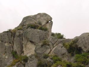 Cerro Ccakarayacc en Huando