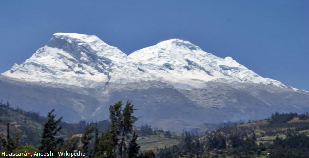 nevado en Ancash
