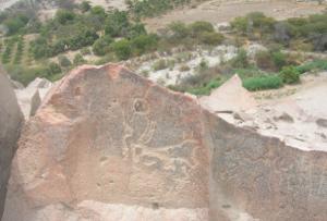 petroglifos de Chichictara en Palpa