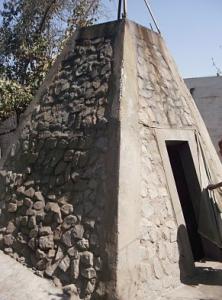 monumento piramidal en ica