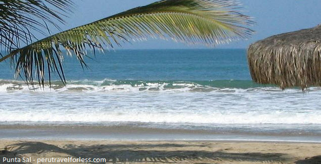 Foto de Playa Punta Sal en Tumbes, costa norte del Perú