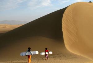 imagen del desierto de nazca
