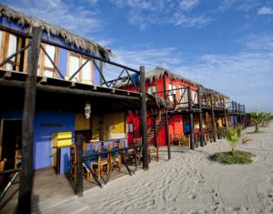 Cabaña de la playa iqueña