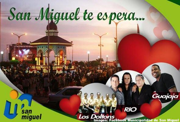 Hoy 14 de febrero Concierto del Amor y la Amistad en el Parque Media Luna de San Miguel