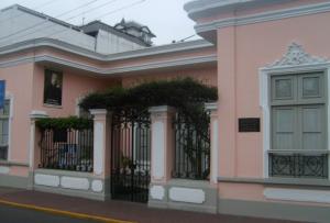 casa del autor de las Tradiciones Peruanas