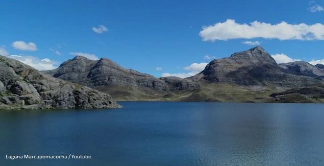 Laguna Marcapomacocha Junín Perú