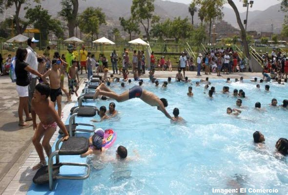 Parques Zonales de Lima por Dia de San Valentín