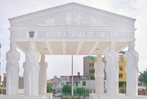 monumento en Lambayeque