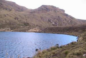 lagunas en Huancabamba