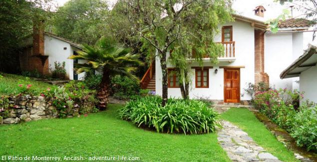 patio de Monterrey en Huaraz