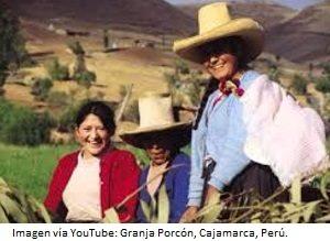 Foto de la Granja Porcón en Cajamarca, Perú