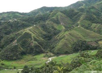 Vista panorámica del Santuario Nacional Tabaconas Namballe en Cajamarca