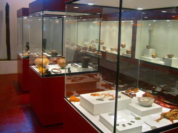 exhibición de la cultura Nazca