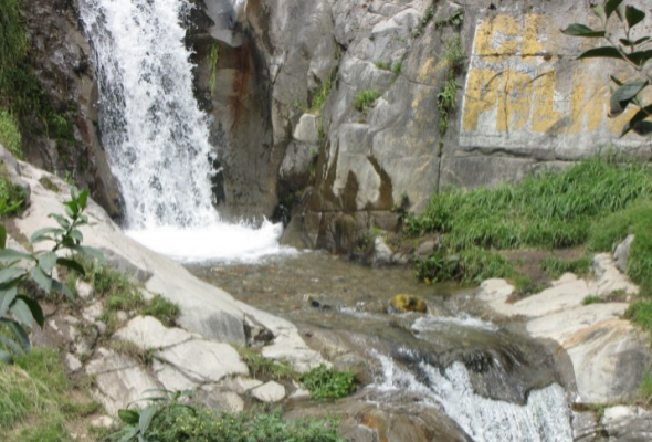 caídas de agua en Huarochiri