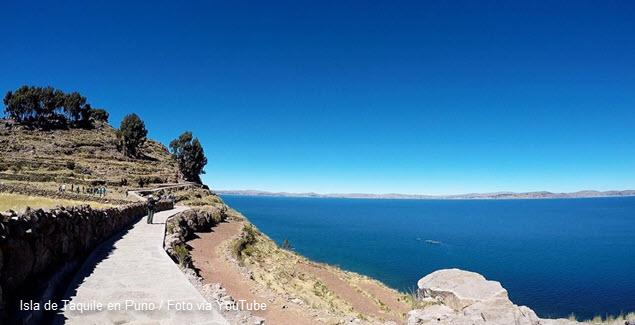 Isla de Taquile Lago Titicaca Puno Perú