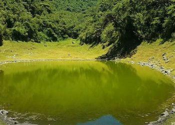Laguna en el Santuario Nacional de Ampay