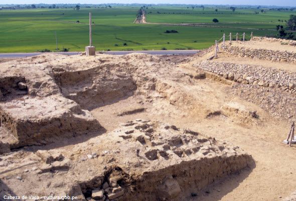 lugar arqueológico en Tumbes