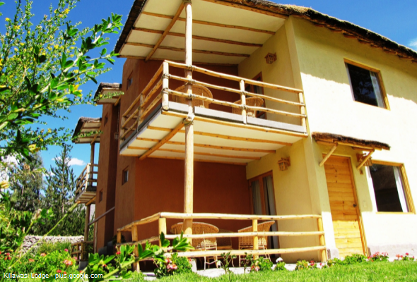 hotel Lodge Killawasi en Yanque