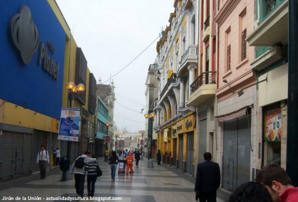 vía más importante de Lima