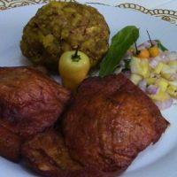 Tacacho con cecina comida de la selva peruana