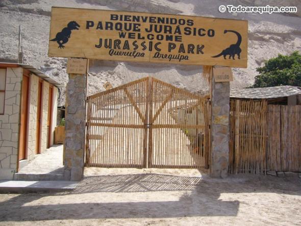 dinosaurios en Arequipa
