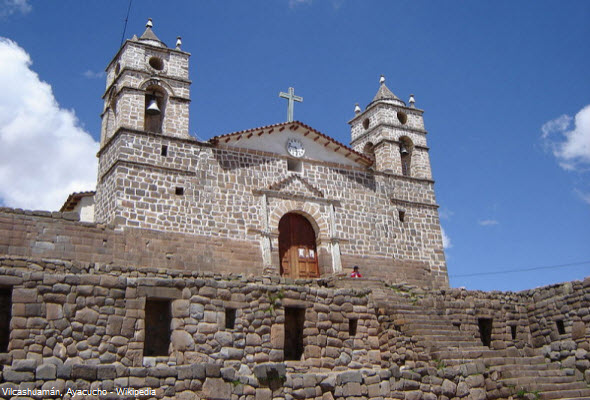centro administrativo incaico en Ayacucho