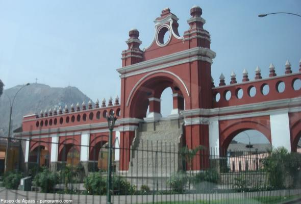 Paseo de la Nabona en Lima
