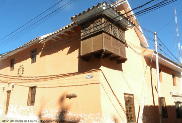 Balcón del Conde de Lemos, la edificación más antigua de Puno