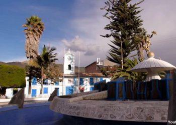Vista de la Plaza de Armas de Celendín en Cajamarca