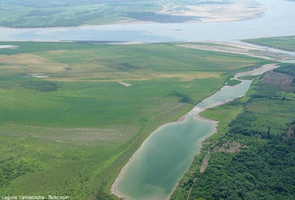 Laguna Yarinacocha, primer balneario de la Amazonía Peruana