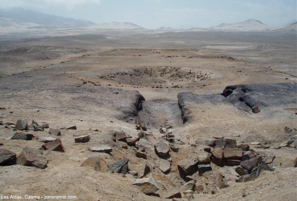 sitio arqueológico en Casma