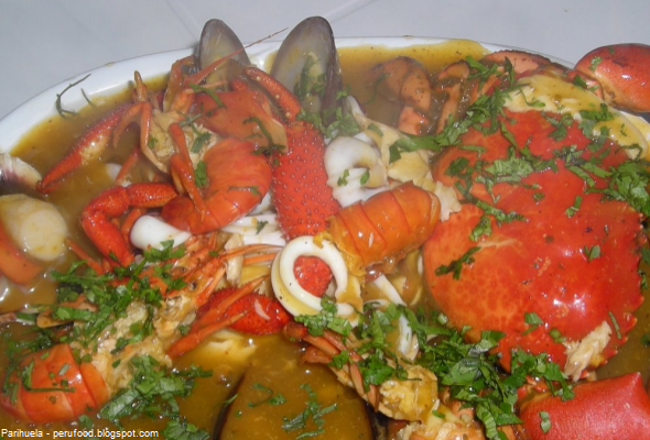 sopa de la gastronomía peruana