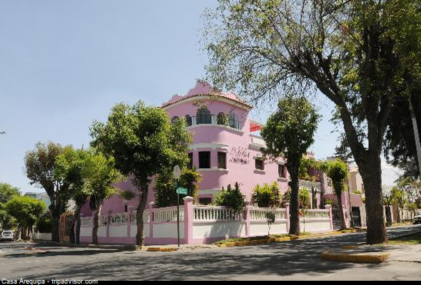 hotel neoclásico en Arequipa