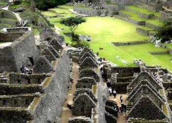 Interior de la ciudadela de Machu Picchu