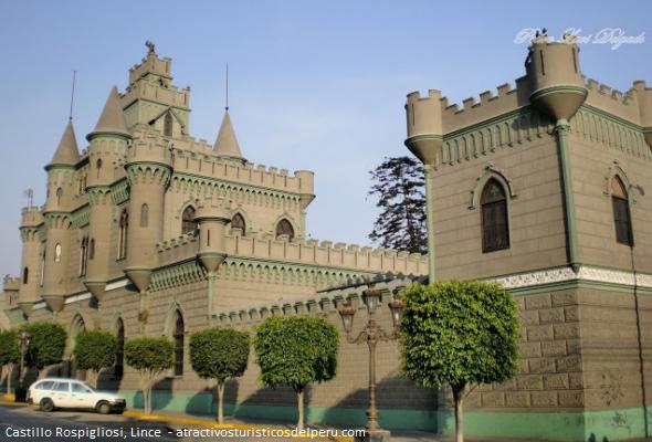 castillo medieval en Lima