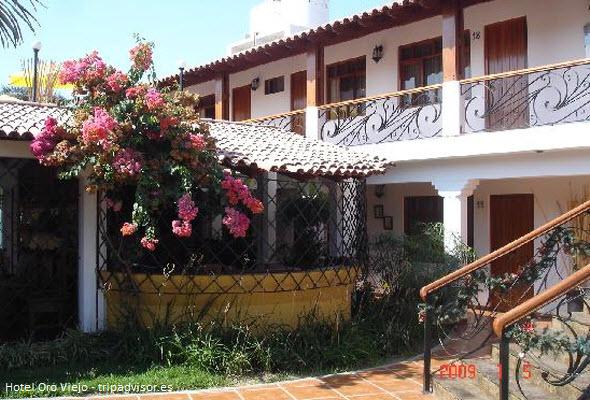 Hotel Oro Viejo en Nazca