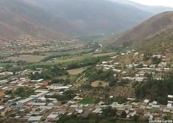 Vista panorámica del distrito de Huácar en Huánuco