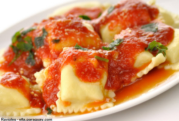 receta de la cocina italiana