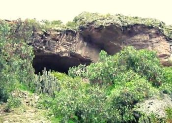 Imagen de la cueva de pikimachay en Ayacucho