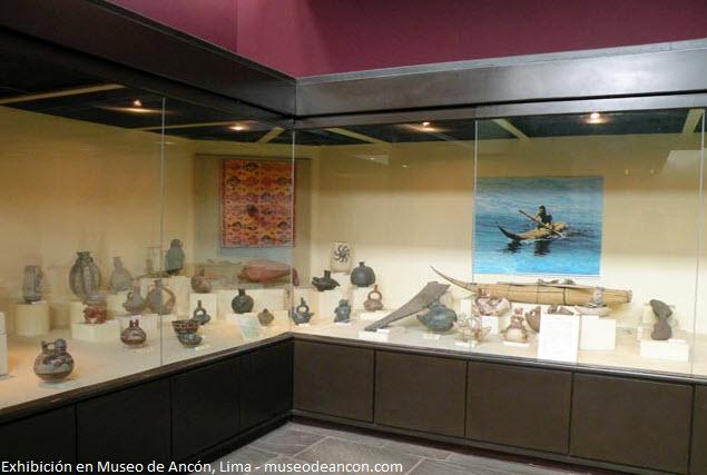objetos arqueológicos de Ancón