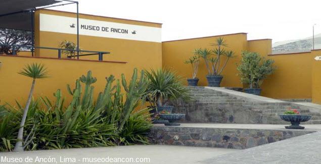 exhibición de material arquitectónico en Ancón