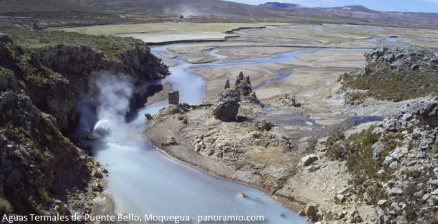 río Titire en Moquegua