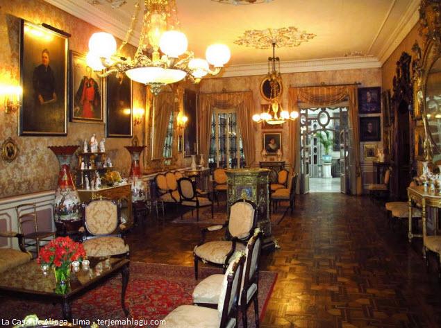 Interior de la Casa de Aliaga en Cercado de Lima