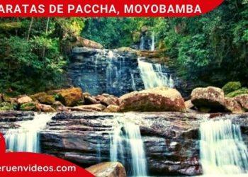 Imagen de las Cataratas de Paccha en Moyobamba, San Martín