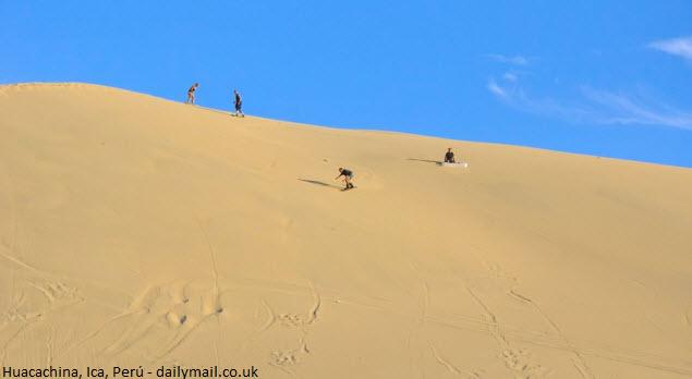 sandboarding en Ica