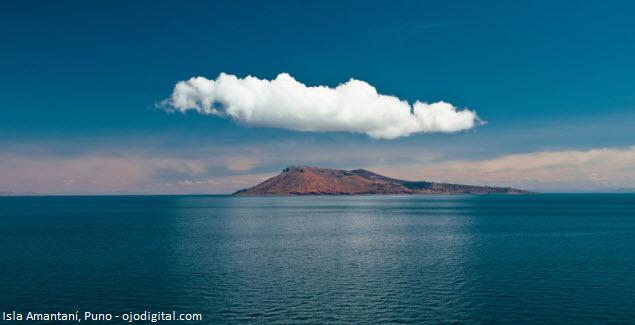 Isla Amantaní en el Lago Titicaca - Puno, Perú