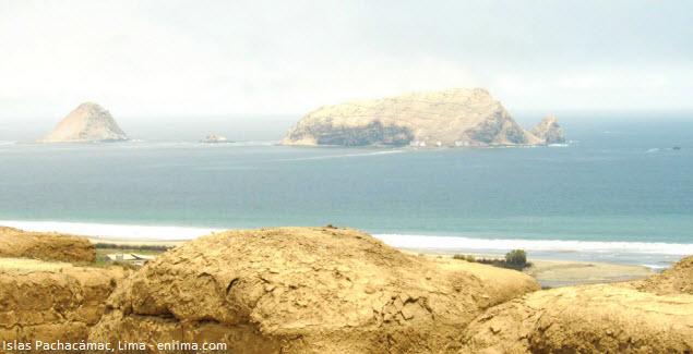 Islas Cavillaca en el litoral limeño