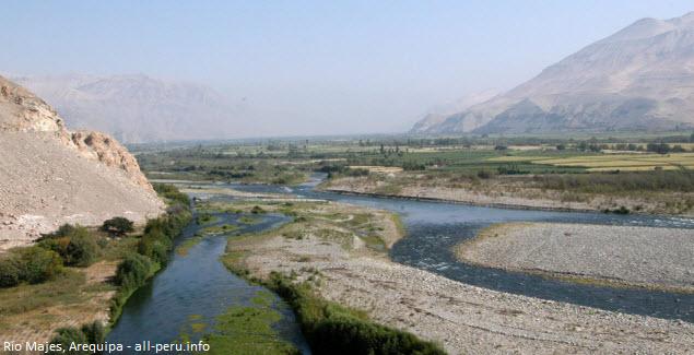 canotaje en rio Majes de Arequipa