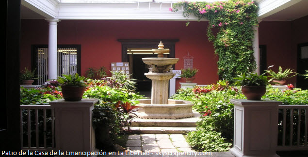 casa de Riva Aguero en Trujillo